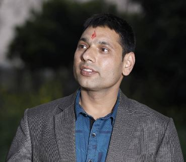 Dhanraj Chalise, Assistant Campus Chief, Sankar Dev Campus