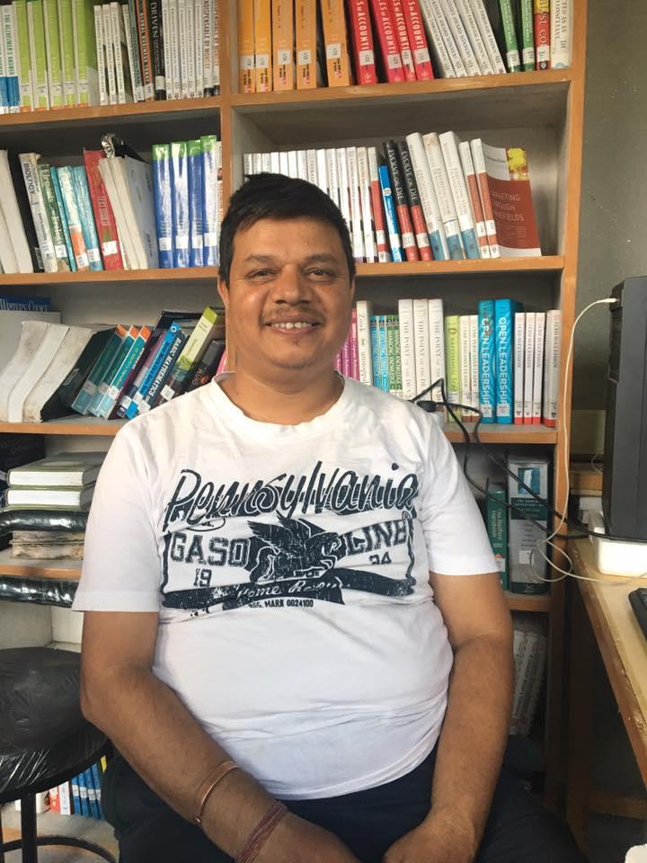 Sagar Raj Subedi, Deputy Librarian, Pulchowk Engineering Campus (IOE)